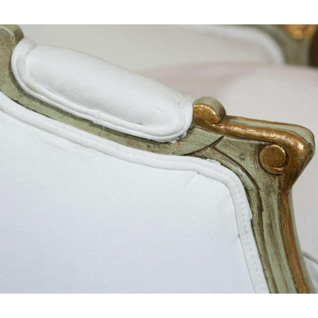 Louis XV Style Bergère by Jansen - A Pair - Image 7 of 10