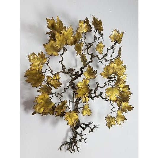 Mid-Century Modern 1970s Mid-Century Curtis Jere Style Tree of Life For Sale - Image 3 of 13