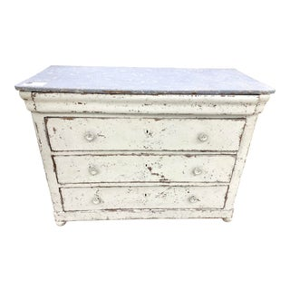 19th Century French Louis Philippe Painted Commode For Sale