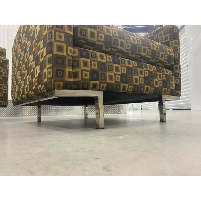 Brown Mid Century Modern Younger Furniture Inc. Lounge Chairs For Sale - Image 8 of 11