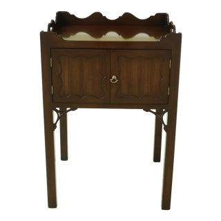 Kittinger Colonial Williamsburg Cw-57 Mahogany Nightstand For Sale