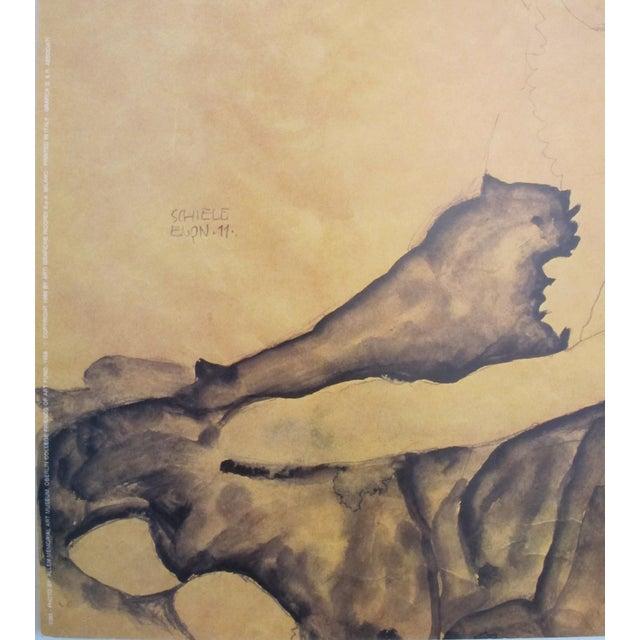 1989 Egon Schiele American Exhibition Poster - Image 4 of 4