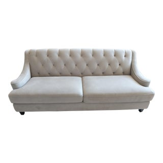 Abbyson Living Claridge Fabric Tufted Sofa For Sale