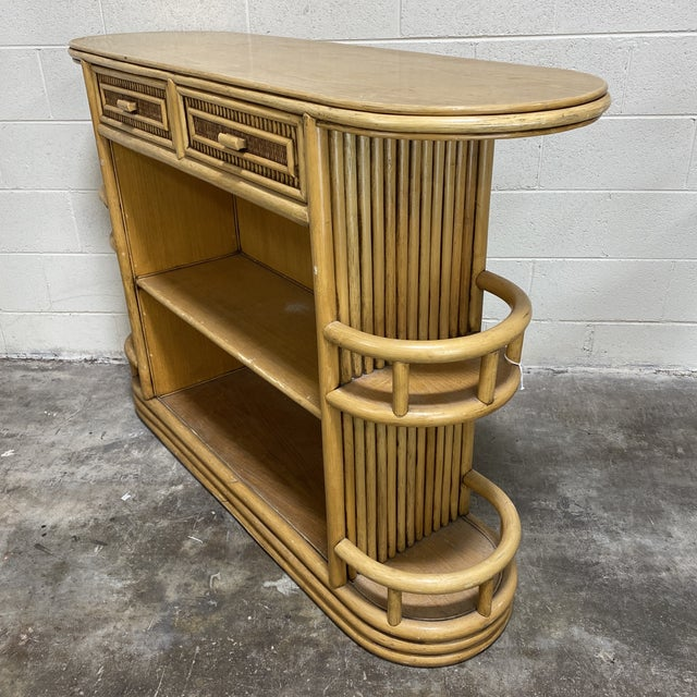 """Wasted away again in Marguaritaville...."" This fantastic large scale bamboo bar will have you firing up the blender in no..."