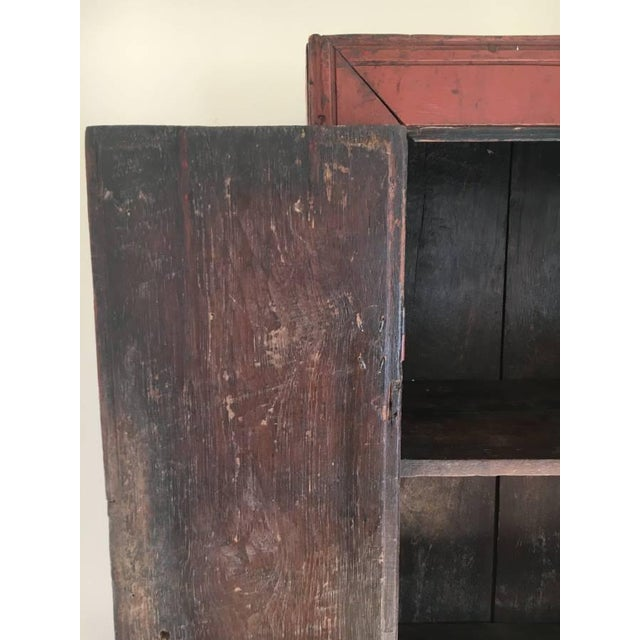 Antique Chinese Elm Cupboard - Image 4 of 7
