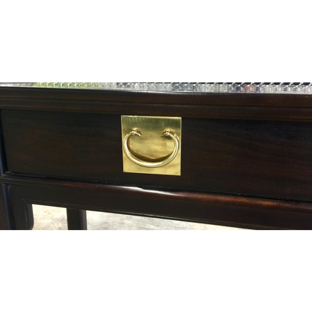 Century Chinoiserie Asian Style Console Table - Image 4 of 11