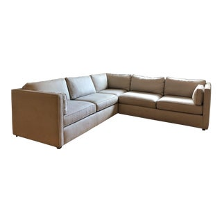Room & Board Beige Watson Sectional Sofa For Sale