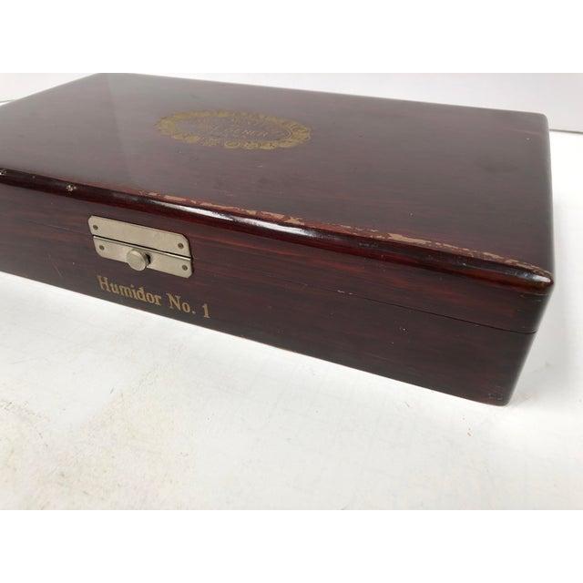 Vintage 1970s Cuban Cigar Humidor Box