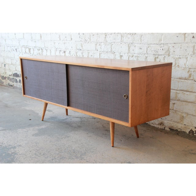 Paul McCobb Planner Group Credenza or Record Cabinet For Sale - Image 12 of 12