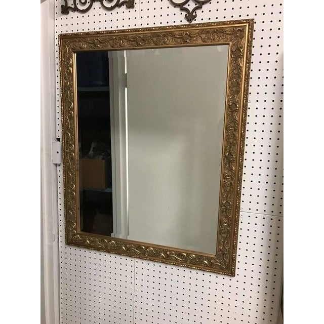 Giltwood Mirror with Beautiful Scroll Work - Image 2 of 6