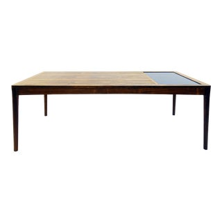 Large Coffee Table With Tiles - 1970's
