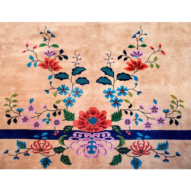 1920s Wonderful Nichols Chinese Art Deco Rug For Sale - Image 5 of 7