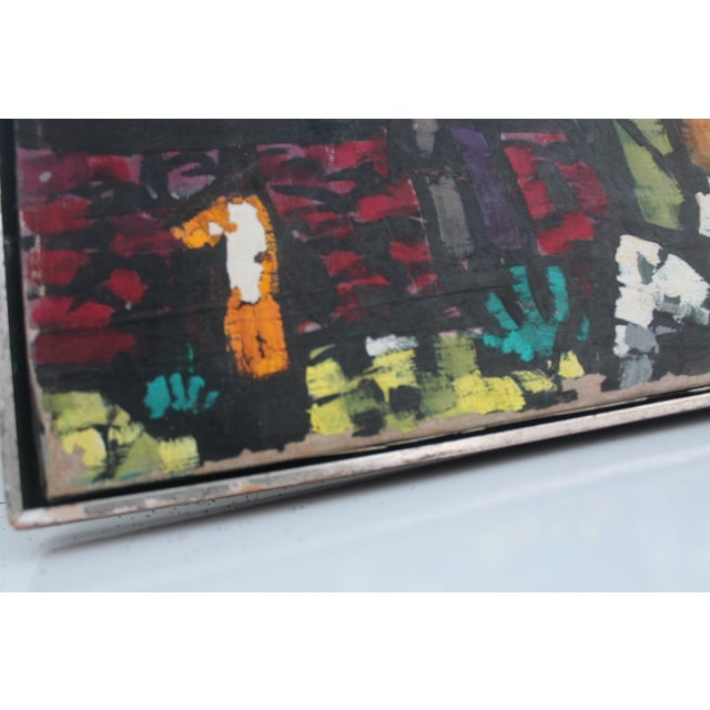 Cityscape Abstract Painting by Feomanol - Image 4 of 11