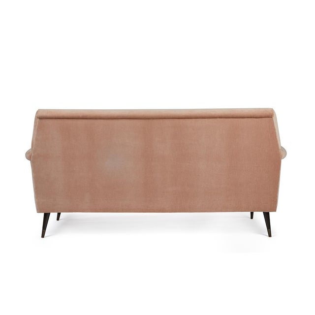 Mid-Century Modern Italian Style Loveseat by Martin and Brockett For Sale - Image 4 of 8