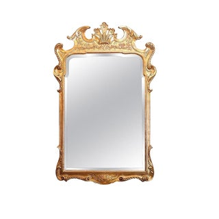 George I Gilt-Gesso Mirror For Sale