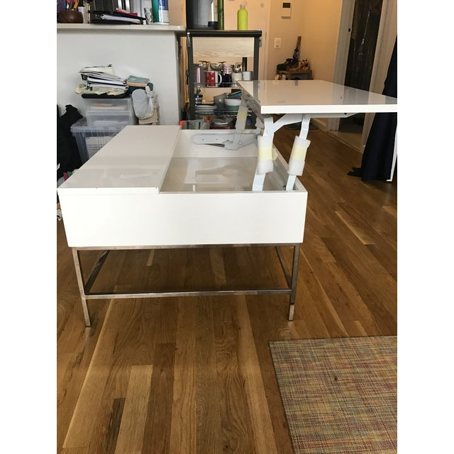 West Elm Storage Coffee Table - Image 4 of 7