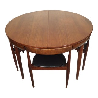 Hans Olen Mid-Century Modern Dining Set For Sale