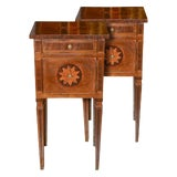 Image of 19th Century Pair of Italian Neoclassical Side Tables For Sale