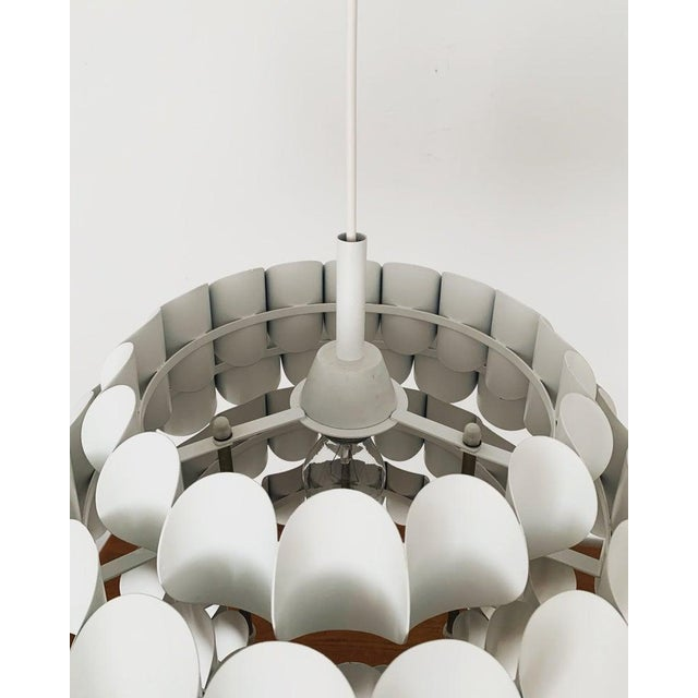 1960s Mid-Century Modern Metal Pendant Lamp by Orrling for Temde For Sale In Los Angeles - Image 6 of 8
