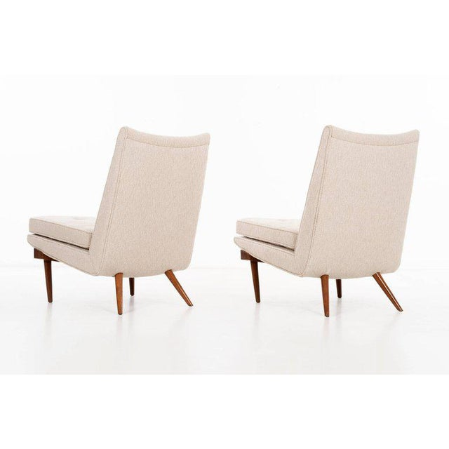 1950s George Nakashima Pair of Chairs For Sale - Image 5 of 9