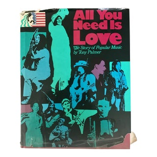 "1976 ""All You Need Is Love: The Story of Pop Music"" Book"