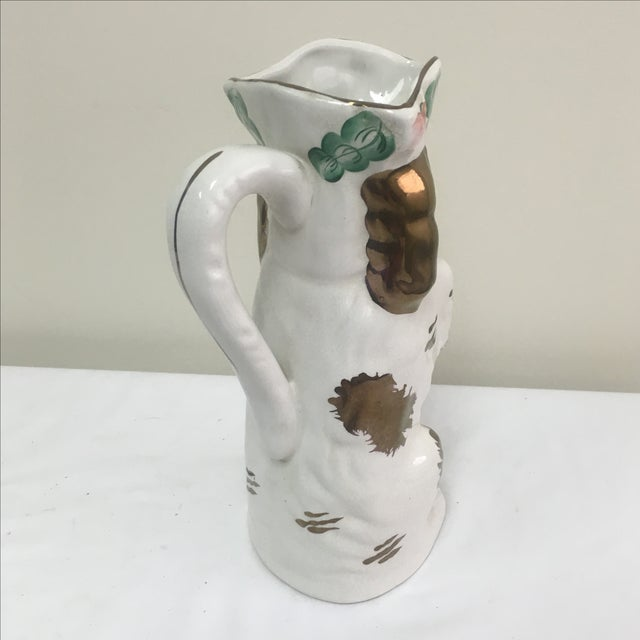 "Staffordshire ""Begging Dog"" Pitcher - Image 4 of 5"
