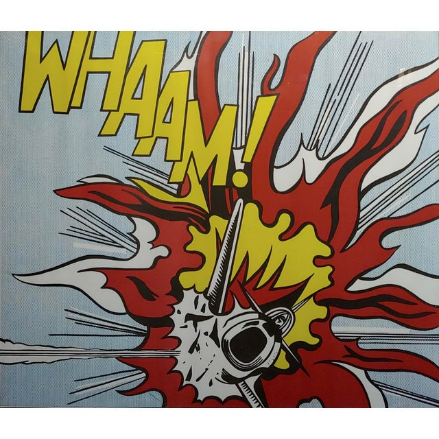 Roy Lichtenstein -Whaam ! - Vintage Lithographs - A Pair For Sale - Image 4 of 12