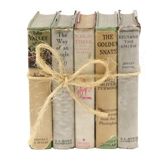 Early 20th Century Antique Book Bundle - Set of 5 For Sale