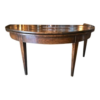 Large 18th C. French Round Dining Table For Sale