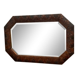 Carved 19th Century Adirondack Mirror For Sale