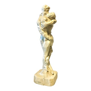 """Mid 20th Century """"Nude Lovers"""" Sculpture For Sale"""