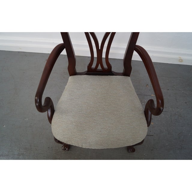 Ethan Allen 18th Century Mahogany Dining Chair - 6 - Image 7 of 10