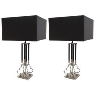 Hollywood Regency Lamps Manner of Tommi Parzinger For Sale