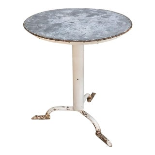 Mid-Century French Café Table For Sale