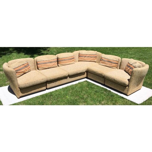 Mid Century Scandinavian Modular Sofa Sectional - Image 10 of 10