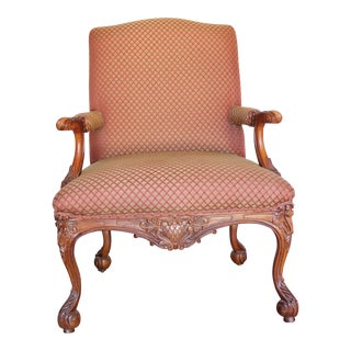 Antique English Arm Chair For Sale