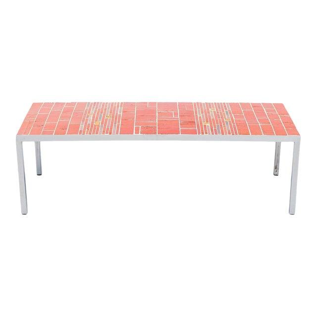 Rogier Vandeweghe Amphora Ceramic Tiles Coffee Table For Sale