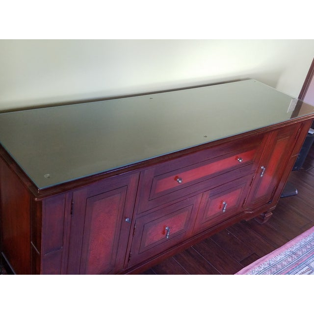 South Cone Brentwood Cognac Credenza - Image 6 of 6