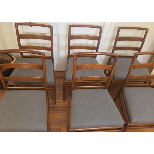 Robsjohn Gibbings for Widdicomb Dining Chairs- Set of 6 - Image 9 of 11