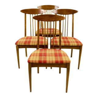 Century Modern Broyhill Sculptra Dining Chairs - Set of 4