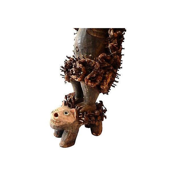 Nkisi Hyena Sculpture - Image 4 of 8