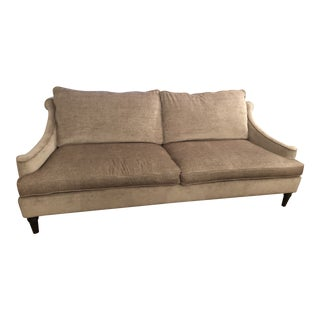 Contemporary Custom Chenille Sofa