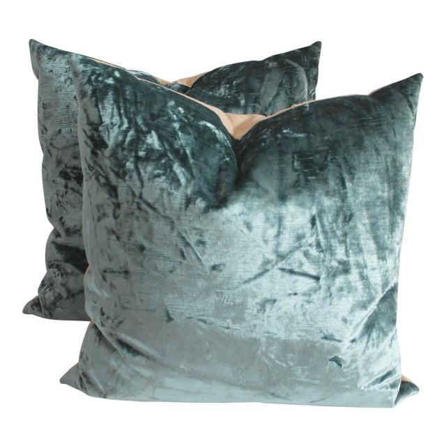 Velvet Pillows - Image 1 of 4
