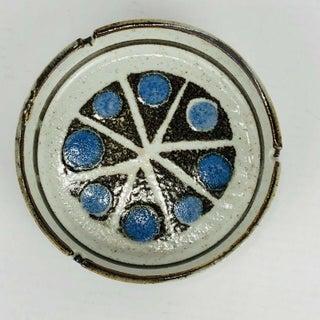 Mid Century Ceramic Ashtray Pottery Vintage Atomic Retro Abstract Starburst Preview