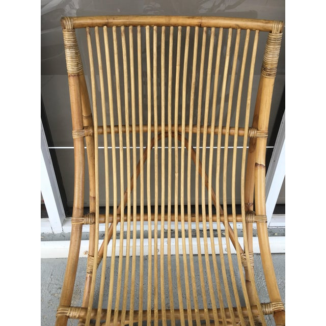 Franco Albini Bamboo Chaise Longue - Image 6 of 7