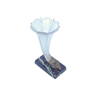 French Art Deco Ram's Head Trumpet Vase Preview