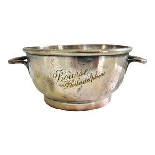 "Antique Hotel Silver""Bourse Philadelphia"" Sugar Bowl For Sale"
