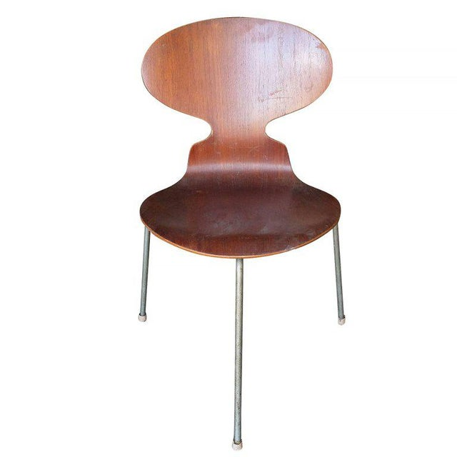 """Arne Jacobsen """"Ant"""" Side Chairs, Set of Four - Image 3 of 7"""