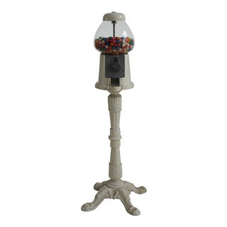Shabby Chic Tall Gumball Machine