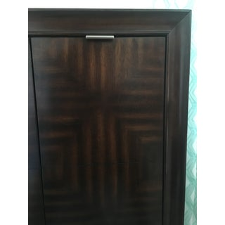 Mid-Century Wood Liquor Cabinet Preview
